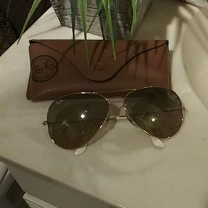 Aviator Ray band sun glasses